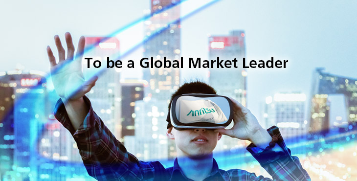 To be a Global Market Leader