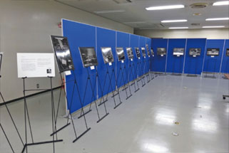 東日本大震災の写真展