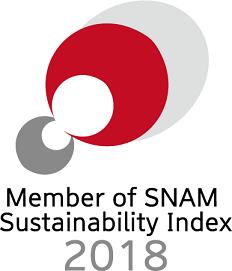 Member of SNAM Sustainability Index 2018
