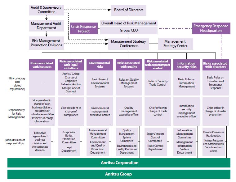 Risk Management Promotion System