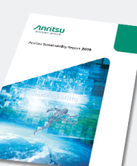 Anritsu Sustainability Report 2019