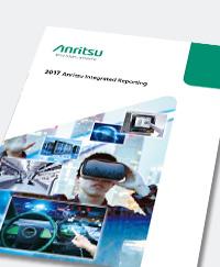 Anritsu Integrated Reporting 2017