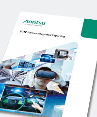 Anritsu Integrated Reporting 2017