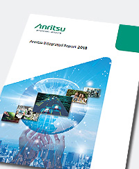 Anritsu Integrated Reporting 2018