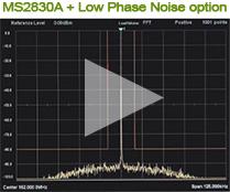 Low Phase Noise option performance comparison