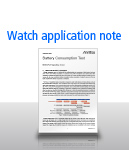 Watch application note