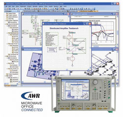 AWR Microwave Office Connected - View Full Size