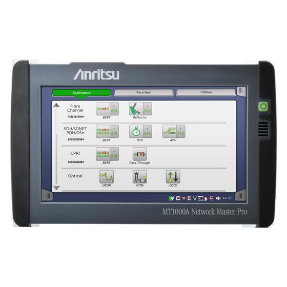 Anritsu Network Master™ Pro MT1000A