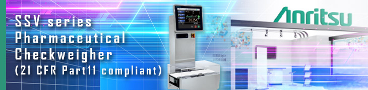Banner image of SSV series Pharmaceutical Checkweigher (21 CFR Part 11 compliant)