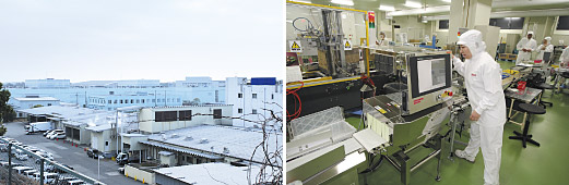 Example of a food factory