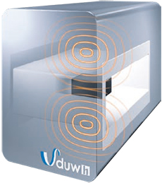 Pic.1: Detection head of metal detector