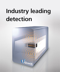 Industry leading detection