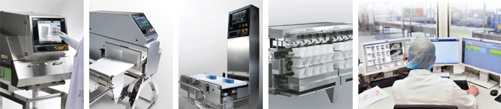 Images of Anritsu inpection machines and QUICCA