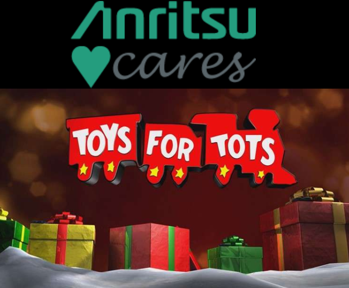 Anritsu Cares Toys for Tots program Anritsu Infivis