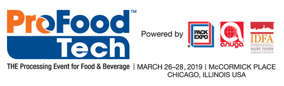Logo for Pro Food Tech 2019