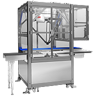 Checkweigher equipped with parallel link robot