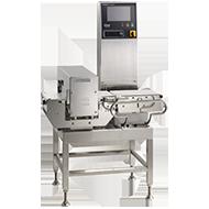 金属検出部付き重量選別機