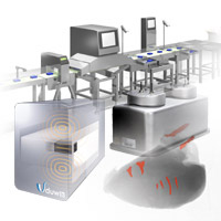 Unlike household appliances, the inspection systems work at production line speeds