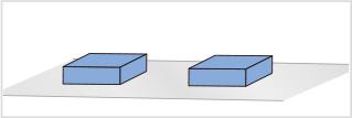 図1:整列しているライン