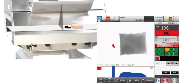 X線の透過画像