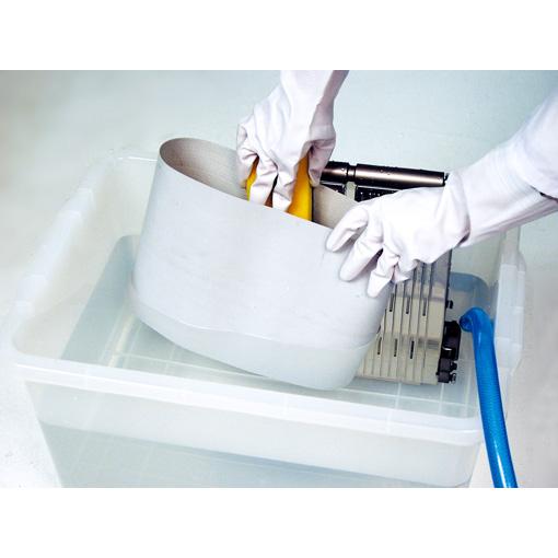 コンベア洗浄が簡単 - Easy washable conveyor belt