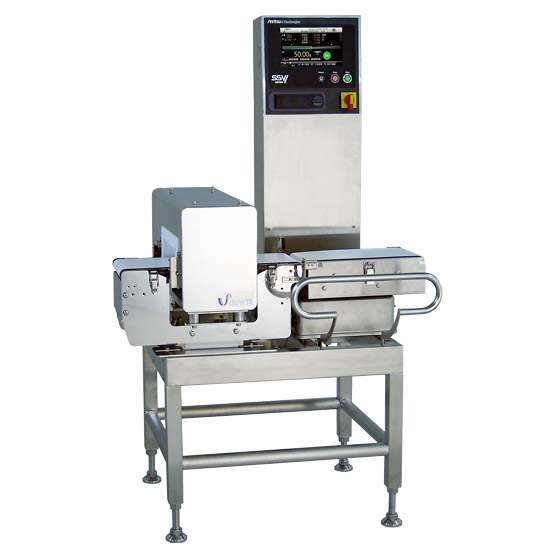 Checkweighers With Metal Detector