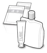 Individually and tube packaged products