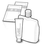 分包、パウチ包装 - Individually and tube packaged products