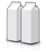 紙パック製品 - Cartons
