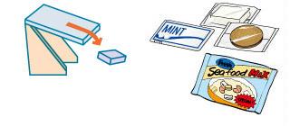 選別ゲート(コンベア)が選別時に下がって、選別品をラインの下に落とす - The rejection conveyor drops down to reject NG products