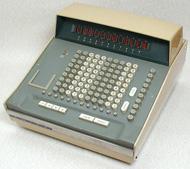 当時の卓上電子計算機