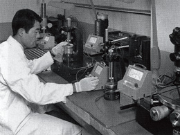 Electronic micrometers