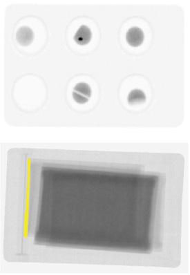 X線による非破壊での内部検査