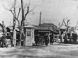 日本初の公衆電話ボックス