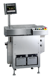 Checkweigher for aerosol can