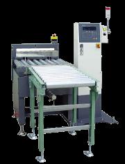 集合包装产品用自动重量选别机