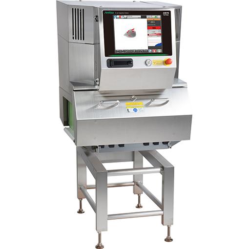 装载双能传感器机型 X射线异物检测机