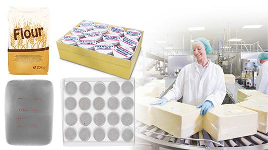 出荷工程や、原材料の受け入れ工程で異物混入や数量不足を検査し、品質向上に貢献