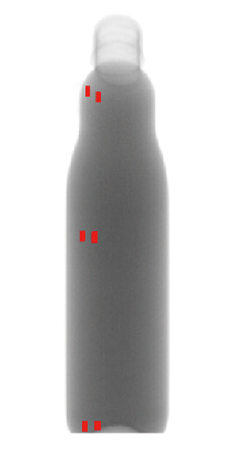X線検査機_XR75シリーズ_サイドビューXR_異物検出事例_ペットボトル入り飲料