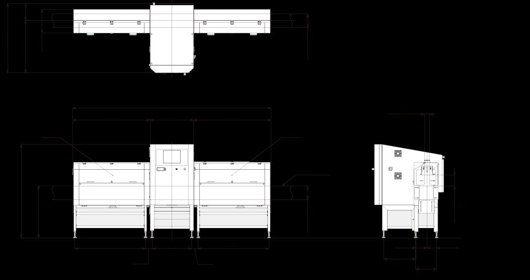 X線検査機_XR75シリーズ_サイドビューXR_外観図