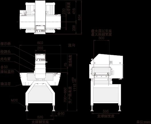外观图(KDS3008ABW)