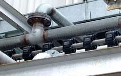排水管から漏れる腐食性ガス