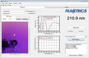 誘電膜,窒化膜,SiN,Si3N4,膜厚測定結果