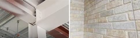 鉄鋼上の塗装膜や外壁材塗膜