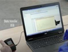PCと接続して測定結果を管理
