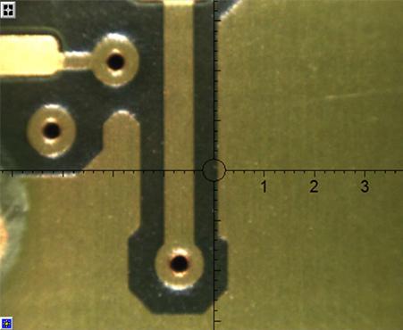 微細回路電極パッドの機能性めっき膜厚測定