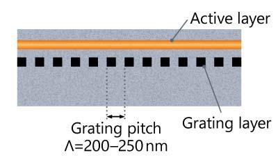 DFB-LD schematic