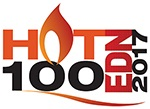 EDN Hot Products of 2017 logo