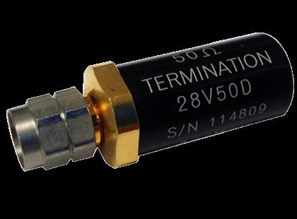 Coaxial Termination 28V50D