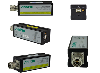 Anritsu MA24400A USB Peak Power Sensors